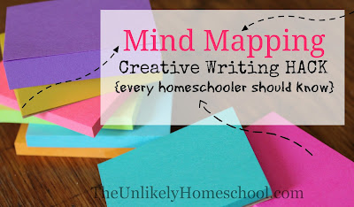 Mind Mapping: a creative writing HACK every homeschooler should know