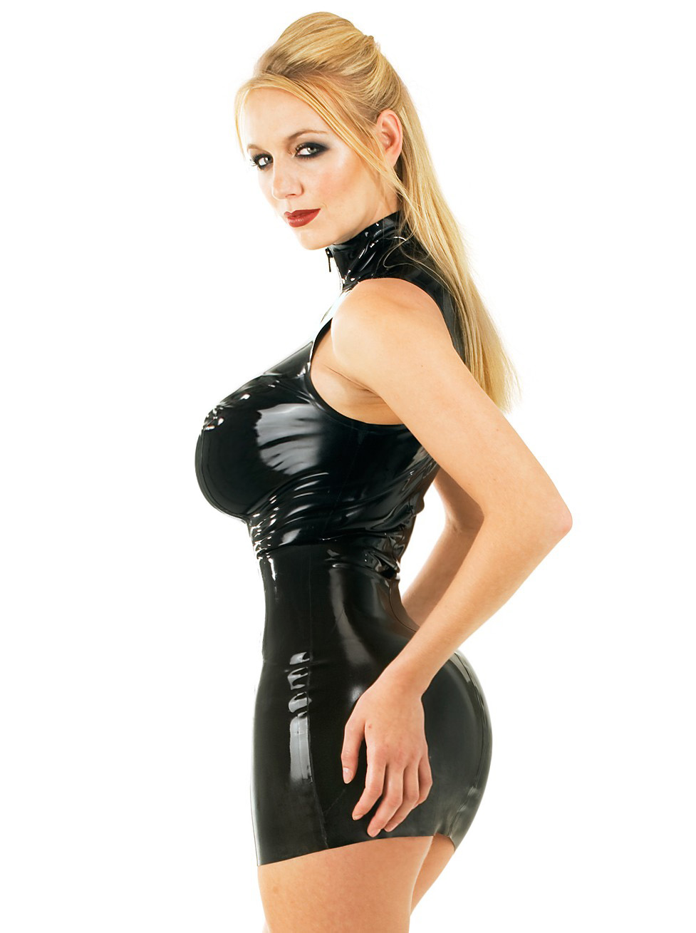 Morphed Babes: > BLACK LATEX