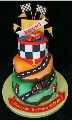 Disney Cars Cake Design