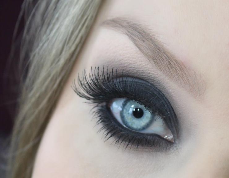 tutorial de maquiagem olho preto esfumado