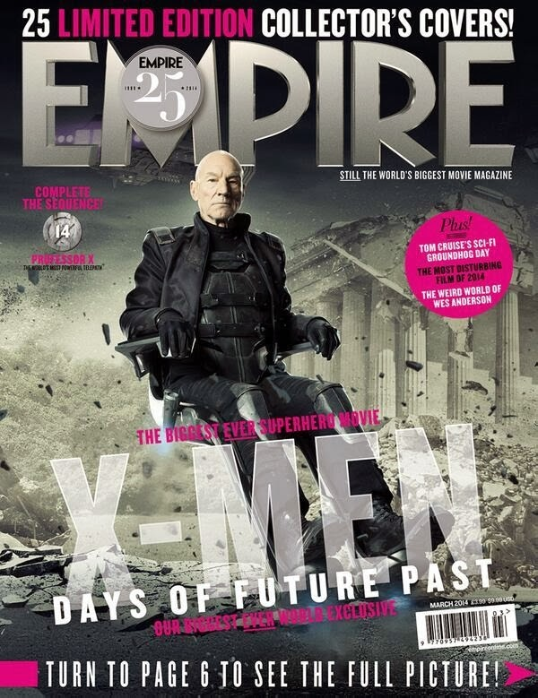 Empire covers X-Men: Days of Future Past: Xavier Futuro