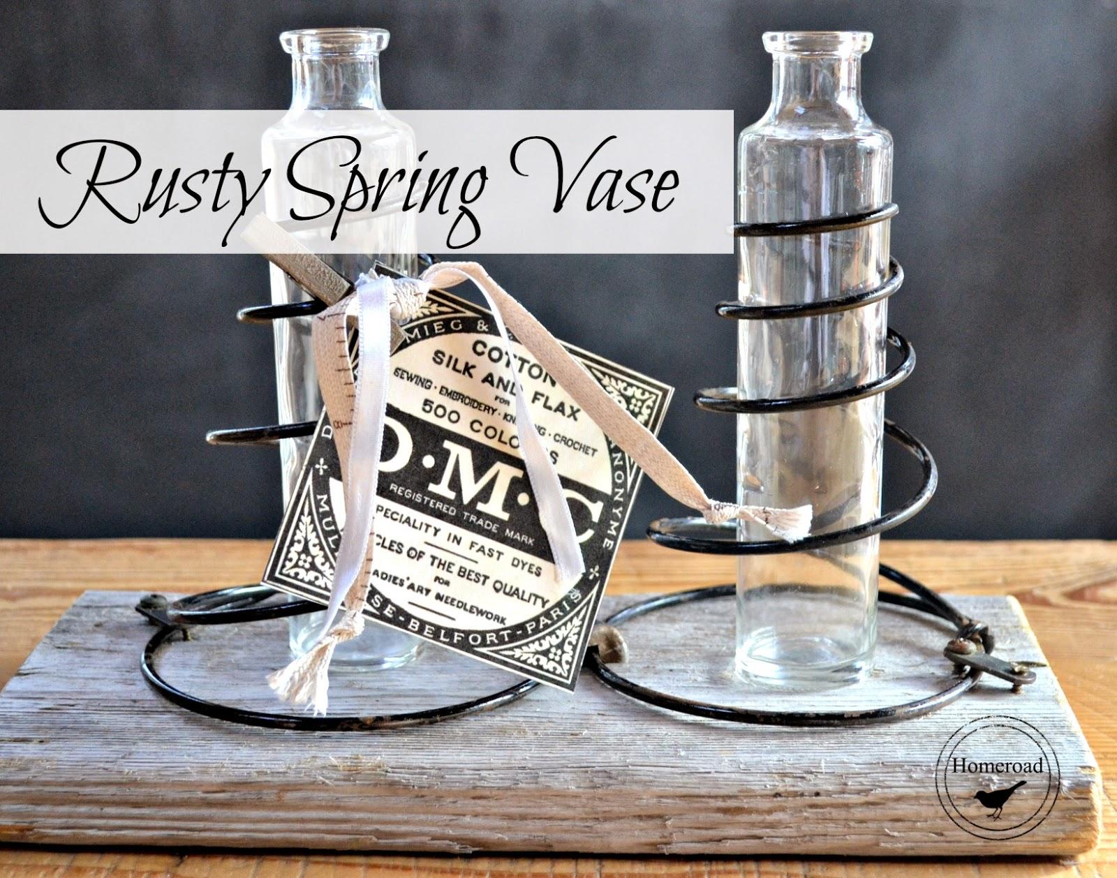 rusty spring vase www.homeroad.net