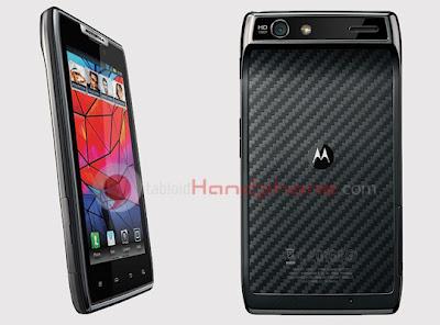 Motorola Droid Razr : Smartphone Super Tipis