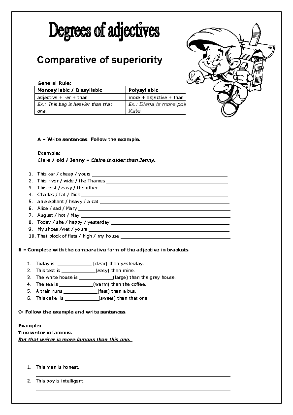 further paratives Superlatives Games ESL Activities Worksheets also paratives Superlatives Games ESL Activities Worksheets moreover paratives   All Things Grammar besides  likewise  as well KateHo »  parative Adjectives Worksheet Doc Kidz Activities likewise Superlative Adjectives Worksheet    In the World  Crossword Puzzle together with Degrees of  parison Exercises as well 330 FREE Degrees Of  parison Worksheets  Teach Degrees of furthermore Adjectives   Degrees of  parison  worksheet   Free ESL printable further  together with Adjectives Worksheets    parative and Superlative Adjectives also paratives and Superlatives ESL Printable Worksheets besides FREE PRINTABLE GRAMMAR WORKSHEET C A   Degrees of Adjectives U19 moreover Free Worksheets Liry   Download and Print Worksheets   Free on. on degrees of comparison adjectives worksheet