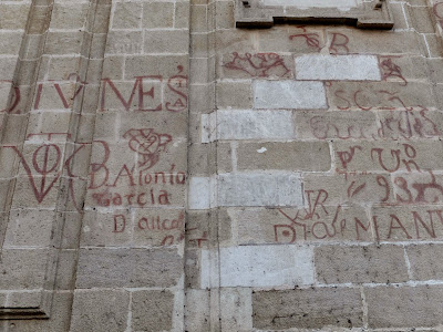Graduating Students of Years Past Put Their Name on the Cathedral