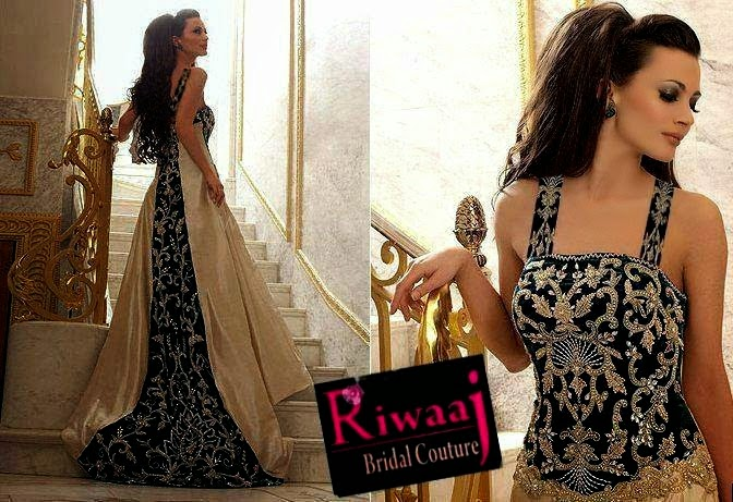 Bridal Party Wear by Riwaaj Bridal Couture 2014