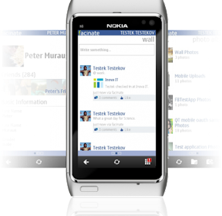 Facinate - A New Facebook Client For Symbian