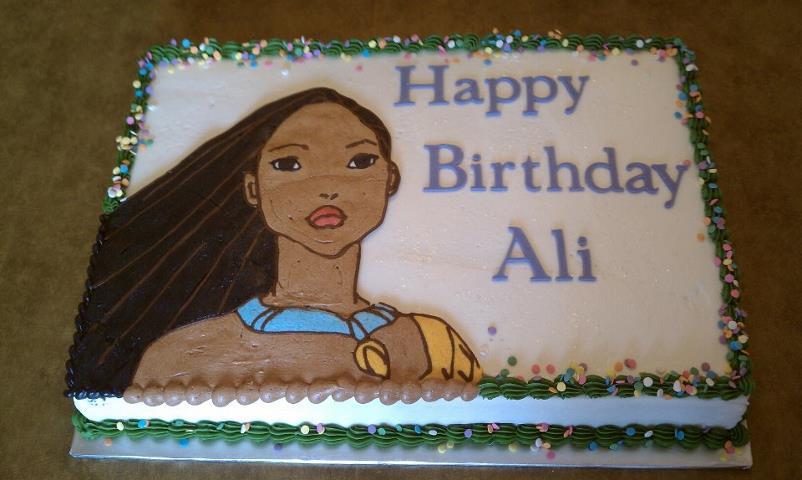 Pocahontas Cake Recipe