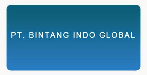 Lowongan Kerja PT. BINTANG INDO GLOBAL Lampung 13 Juni 2014, Logo PT. BINTANG INDO GLOBAL
