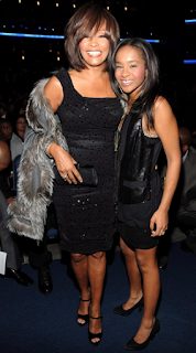 Bobbi Kristina Brown and Whitney Houston