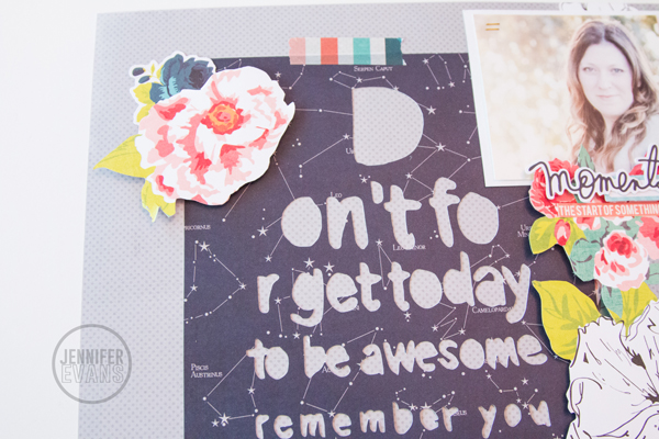 Don't Forget to be Awesome @heidiswapp @createoften #heidiswapp #hsSeptemberSkies