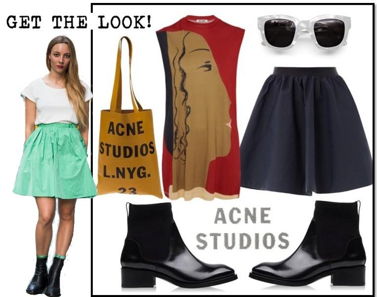 look acne studios