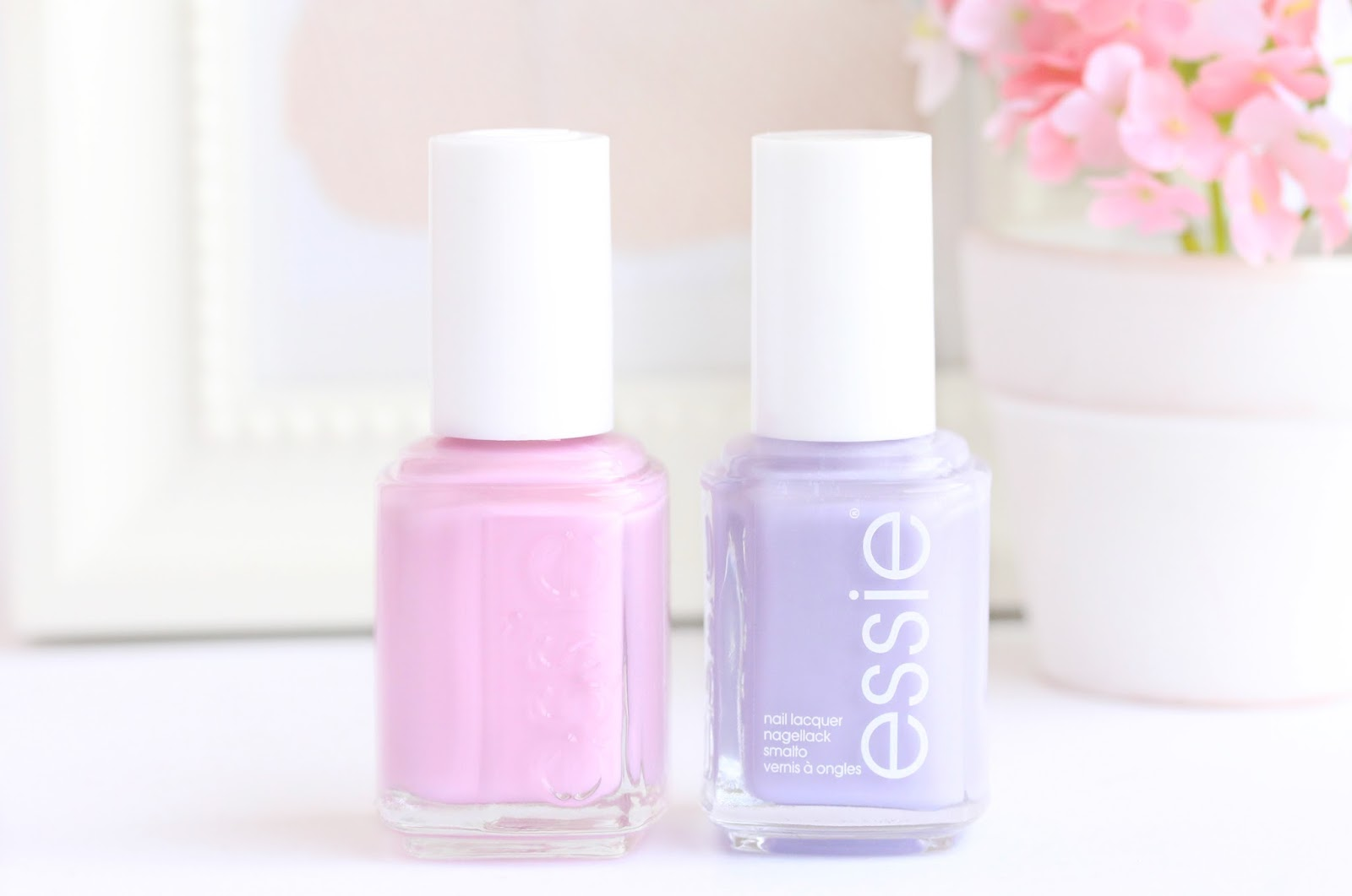 Essie Lilacism And Essie French Affair