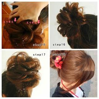 Gaya Ikat Rambut Ala Korea Yang Cantik dan Cara Mengikat rambut Cute