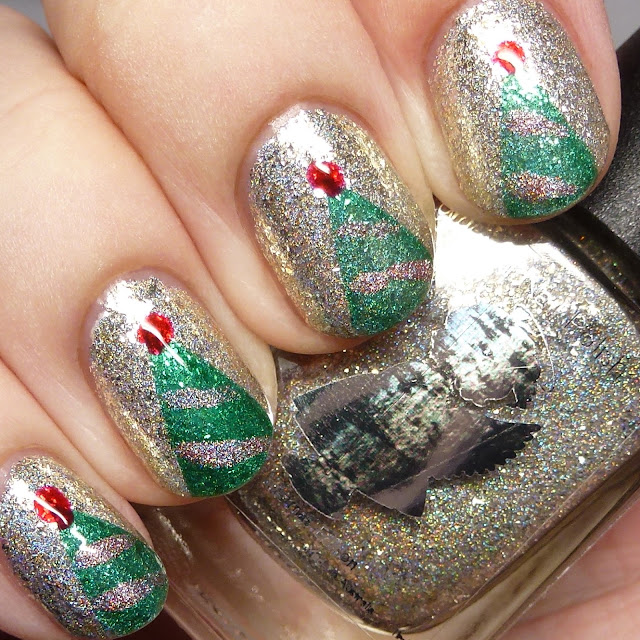 Grace-full Nail Polish Christmas Collection nail art