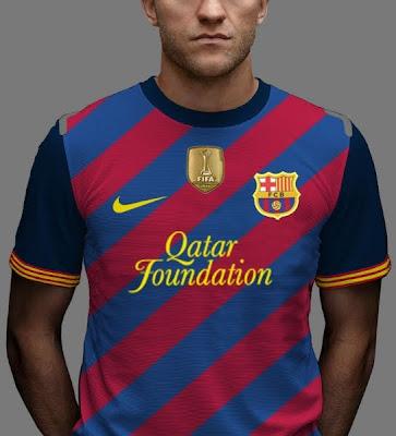 Camisa Nike FC Barcelona 2012 2013   Kit Fantasy