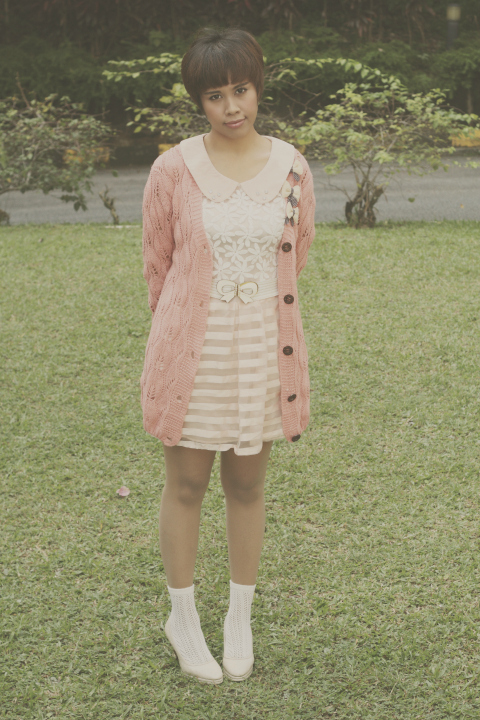 mori girl, mori kei fashion, style, tea party outfit of the day, ootd, fashion blogger, vintage, old school, pretty dress, pastels