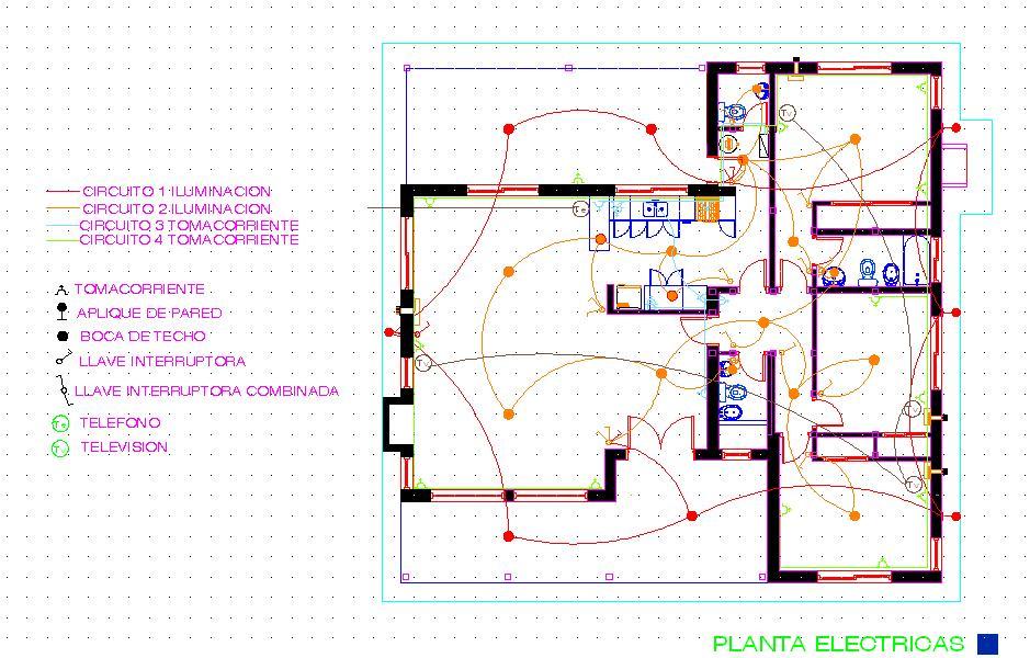 Instalaciones Electicas Residenciales Planos Mas Usados