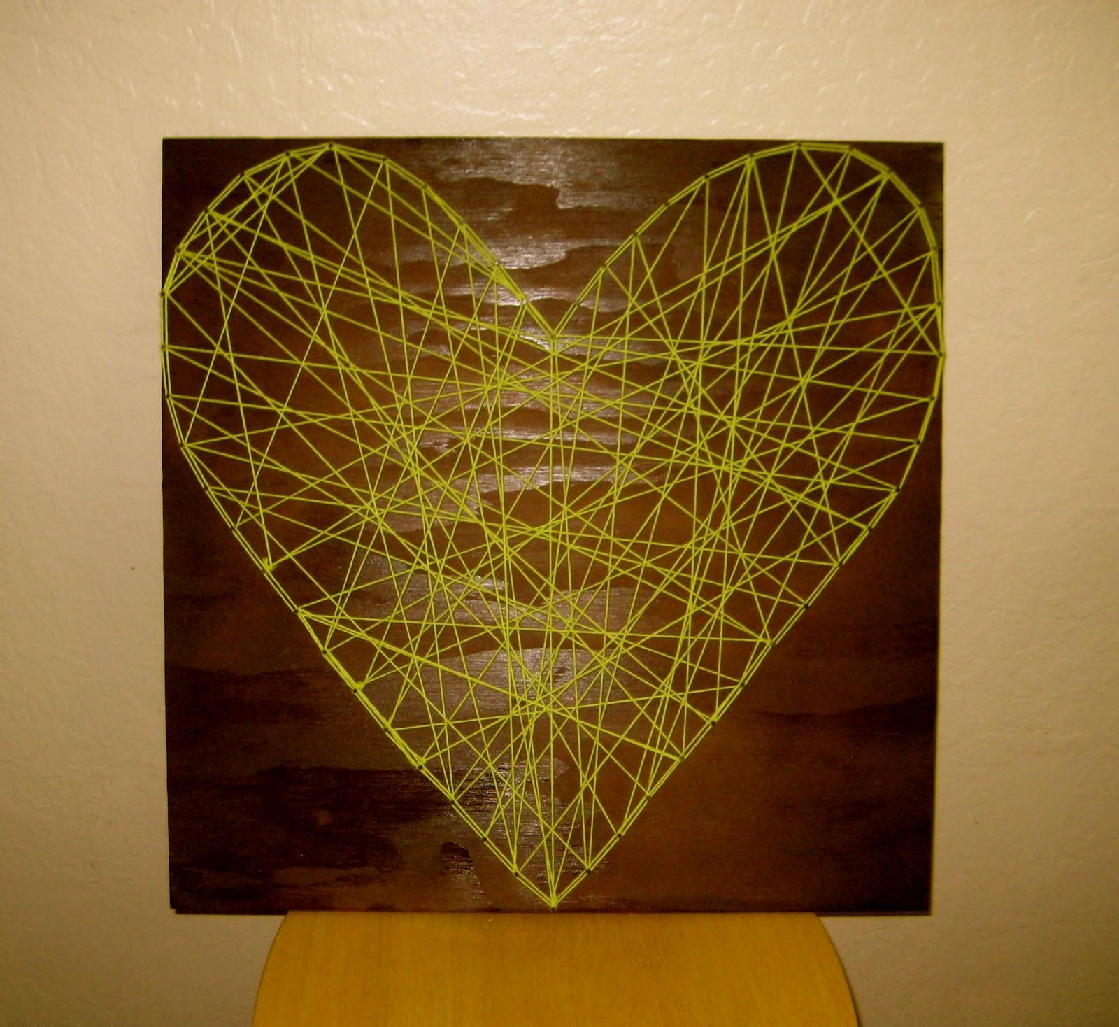 prettyLOVE, prettyLIFE: prettyLITTLE string-art