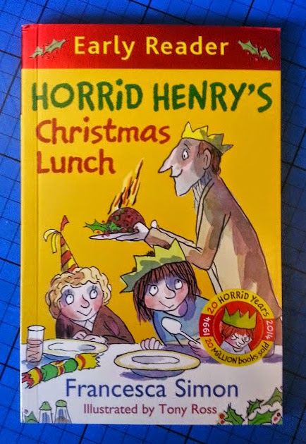Horrid Henry's Christmas Lunch Early Reader book review