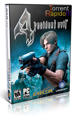 Download Capa 3D do Game Resident Evil 4 PC
