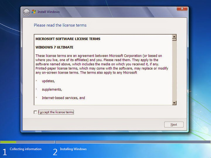 Cara Simpel Instal Windows 7