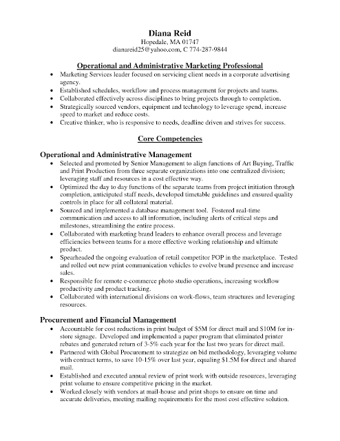 resume samples advertising agent resume