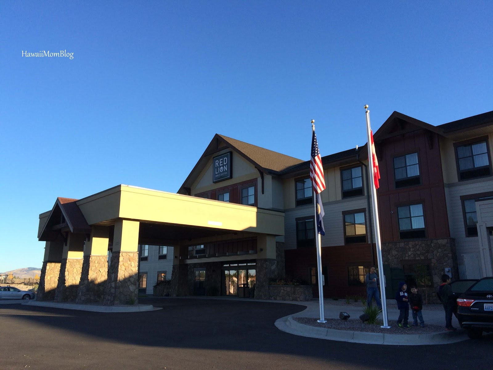 Northwest Took Us From Washington To Montana Where For Two Nights We Called The Red Lion Ridgewater Inn And Suites Polson Our Home Away
