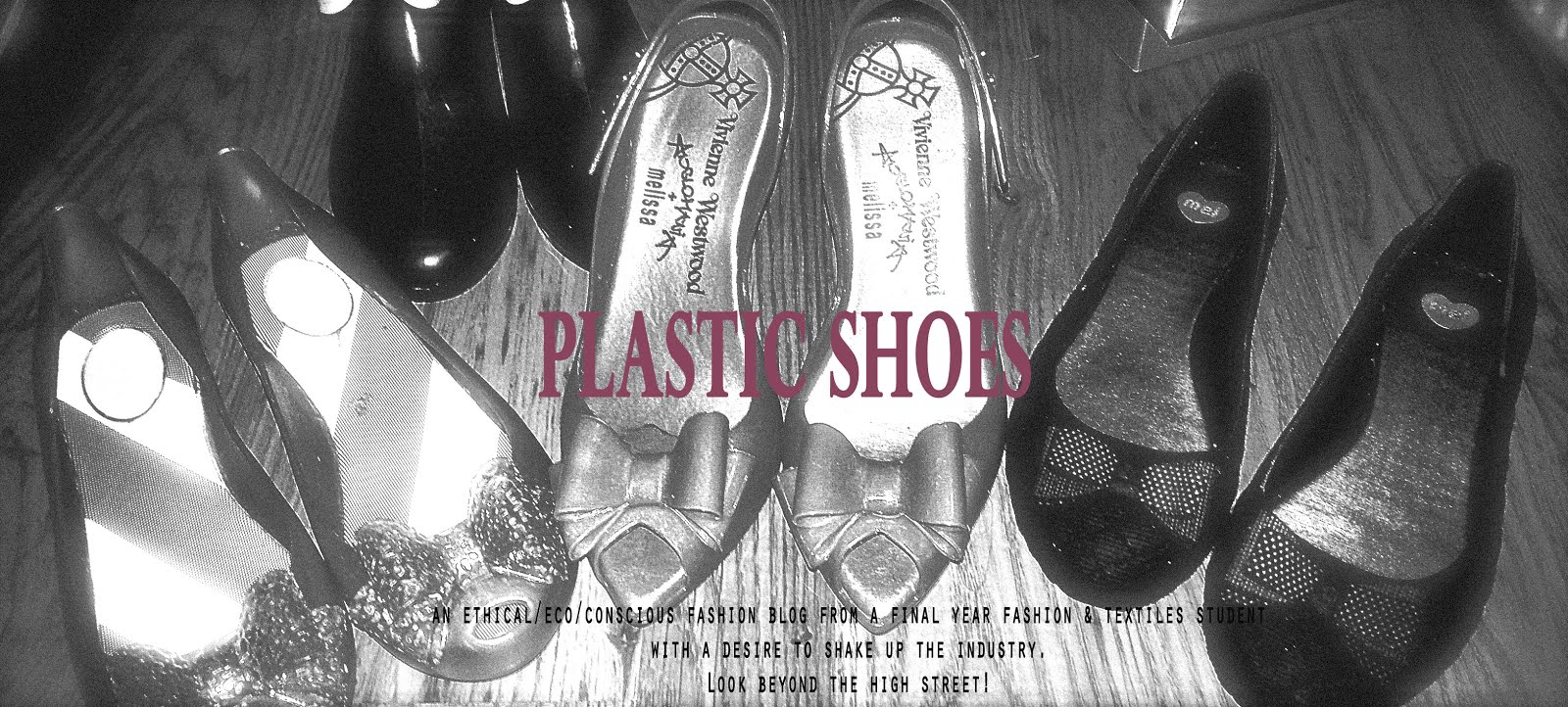 plastic shoes
