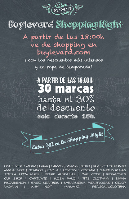 Tercera Shopping Night de Buylevard