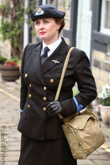 Wren Officer Haworth 1940s