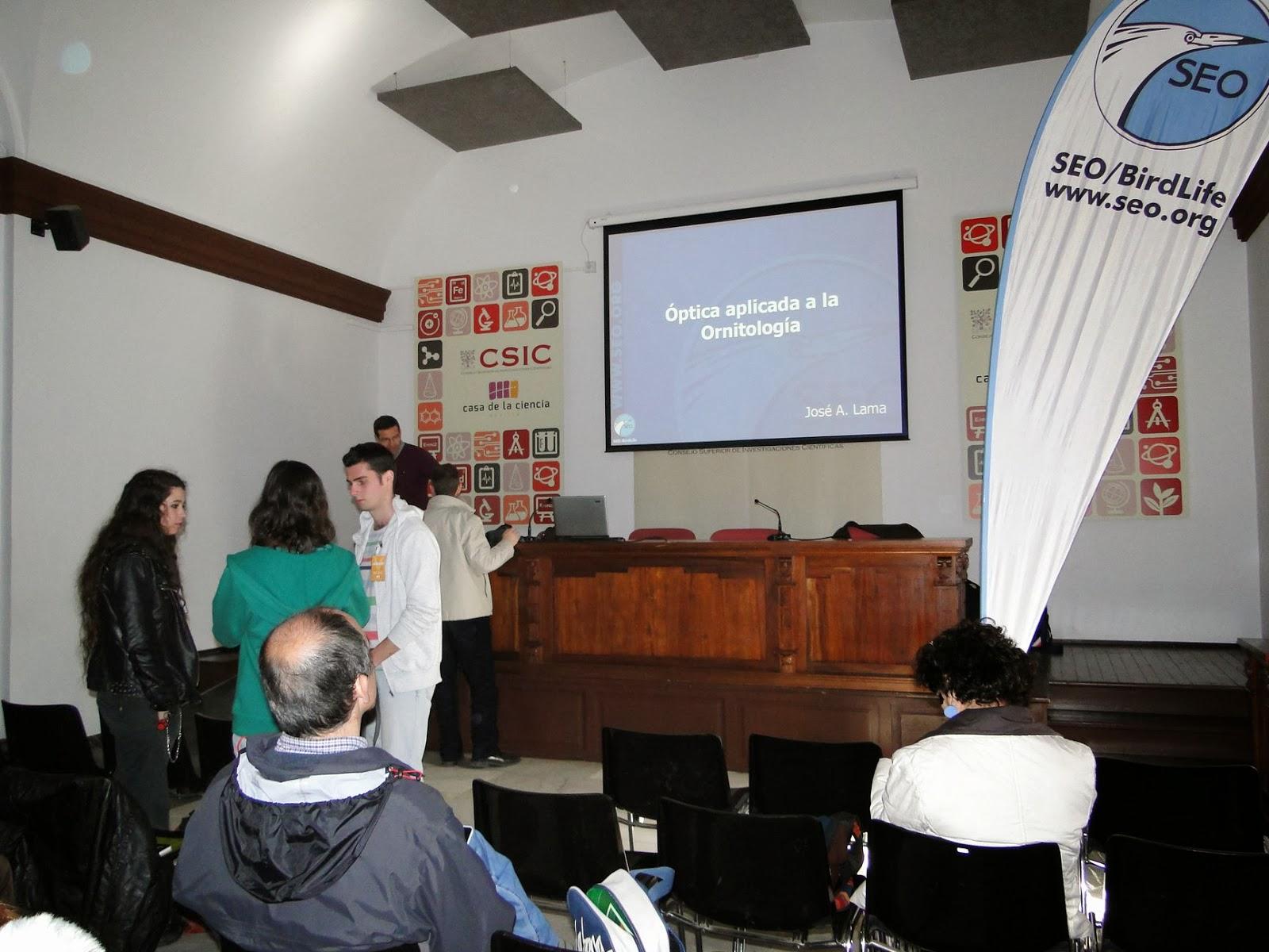 Curso de Iniciación a la Ornitología 2013. SEO-Sevilla