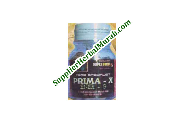 Prima-X Ener-G (Stamina dan Kejantanan Pria)