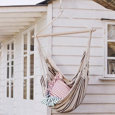 DIY hammocks and swing beds