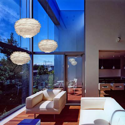 Lámpara de plumas EOS Vita