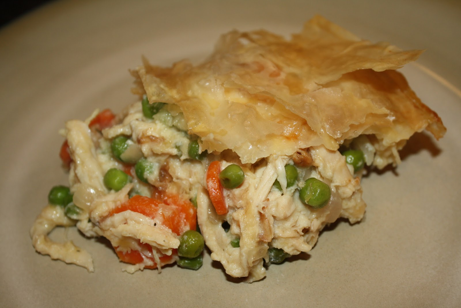 Neighbor Chick's: Lighter Chicken Pot Pie