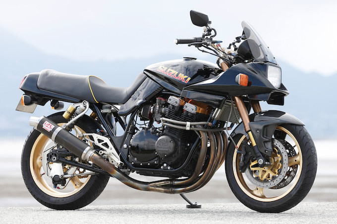 Racing Caf U00e8  Suzuki Gsx 1100s Katana By Mr Bike