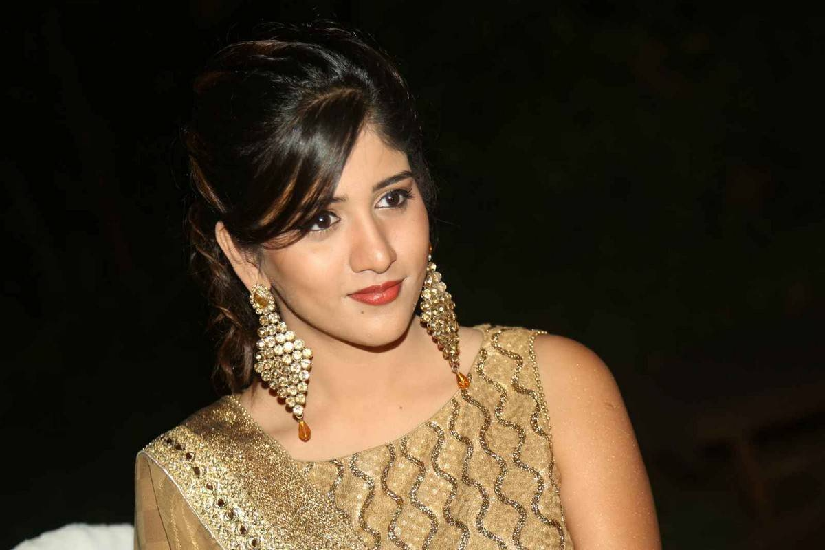 Chandini Chowdary Stills At Kundanapu Bomma Audio Launch