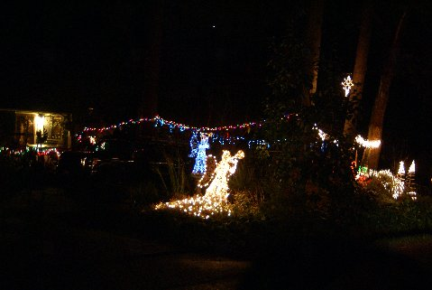 shoreline area news christmas lights angel with a trumpet