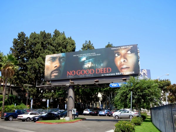 No Good Deed movie billboard