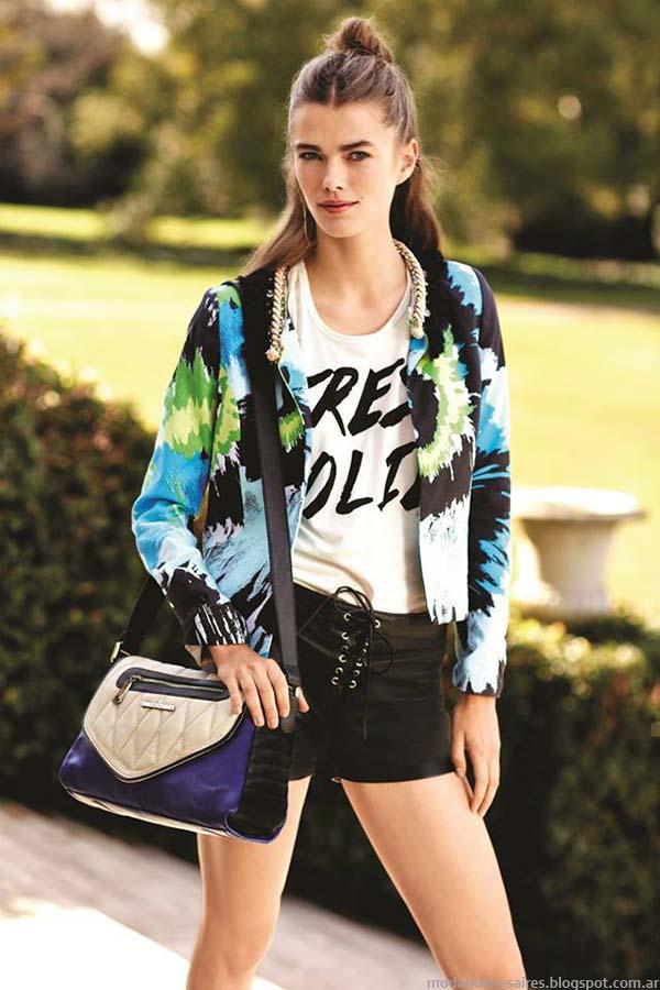 Moda primavera verano 2015. Uma moda 2015.