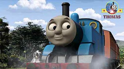 Happy birthday DVD gift-box surprises Sodor little Thomas toy steam engine friends celebration event