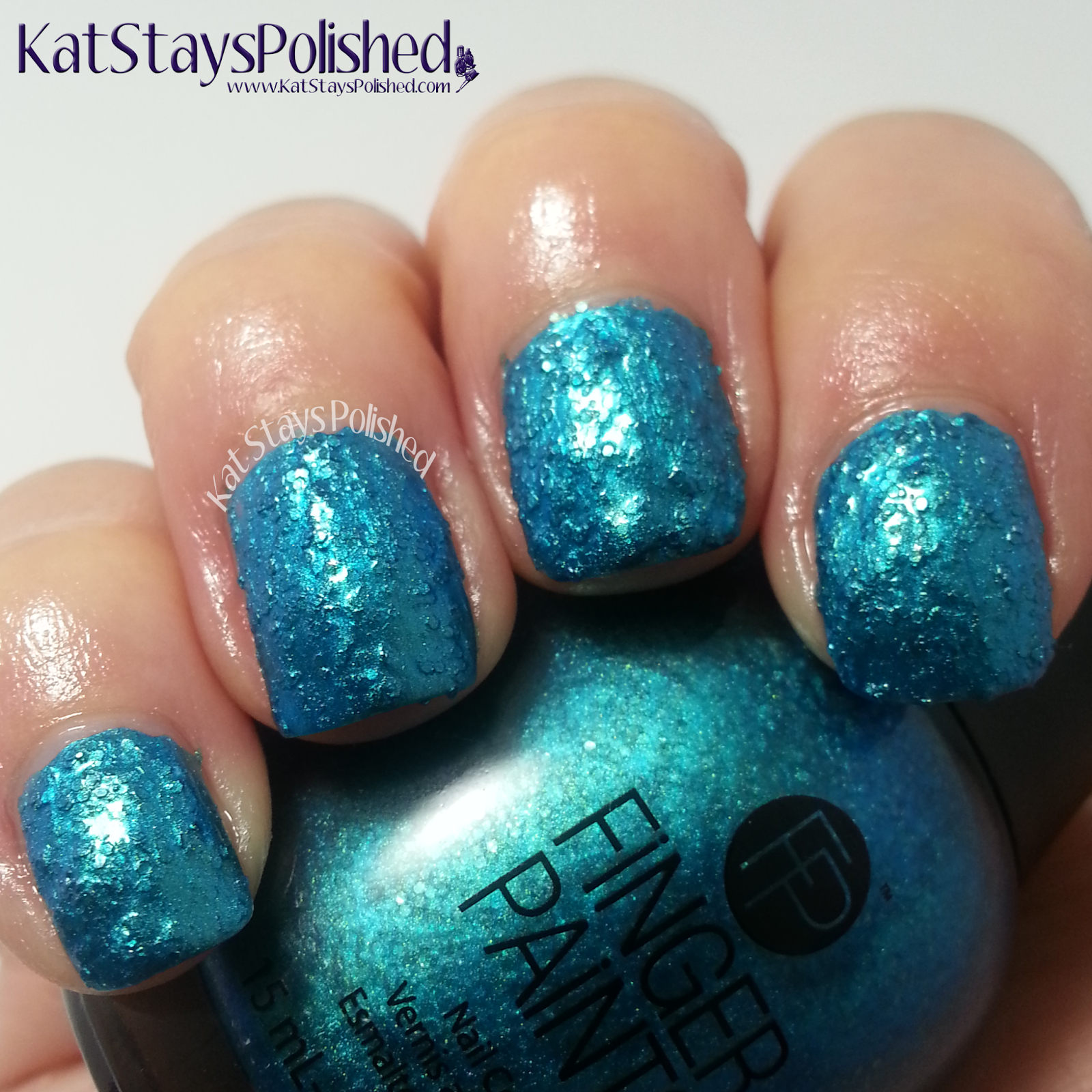 FingerPaints - Enchanted Mermaid 2014 - Tails of Love | Kat Stays Polished