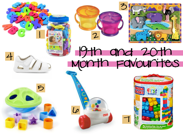 Sweet Turtle Soup - 19th and 20th Month Favourites, Baby Registry