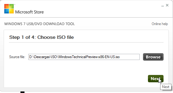USB de Instalación de Windows 10 - Creación
