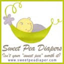 Sweet Pea Diaper Logo