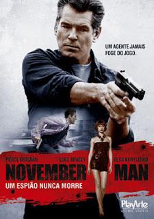 November Man: Um Espião Nunca Morre - DVDRip Dual Áudio