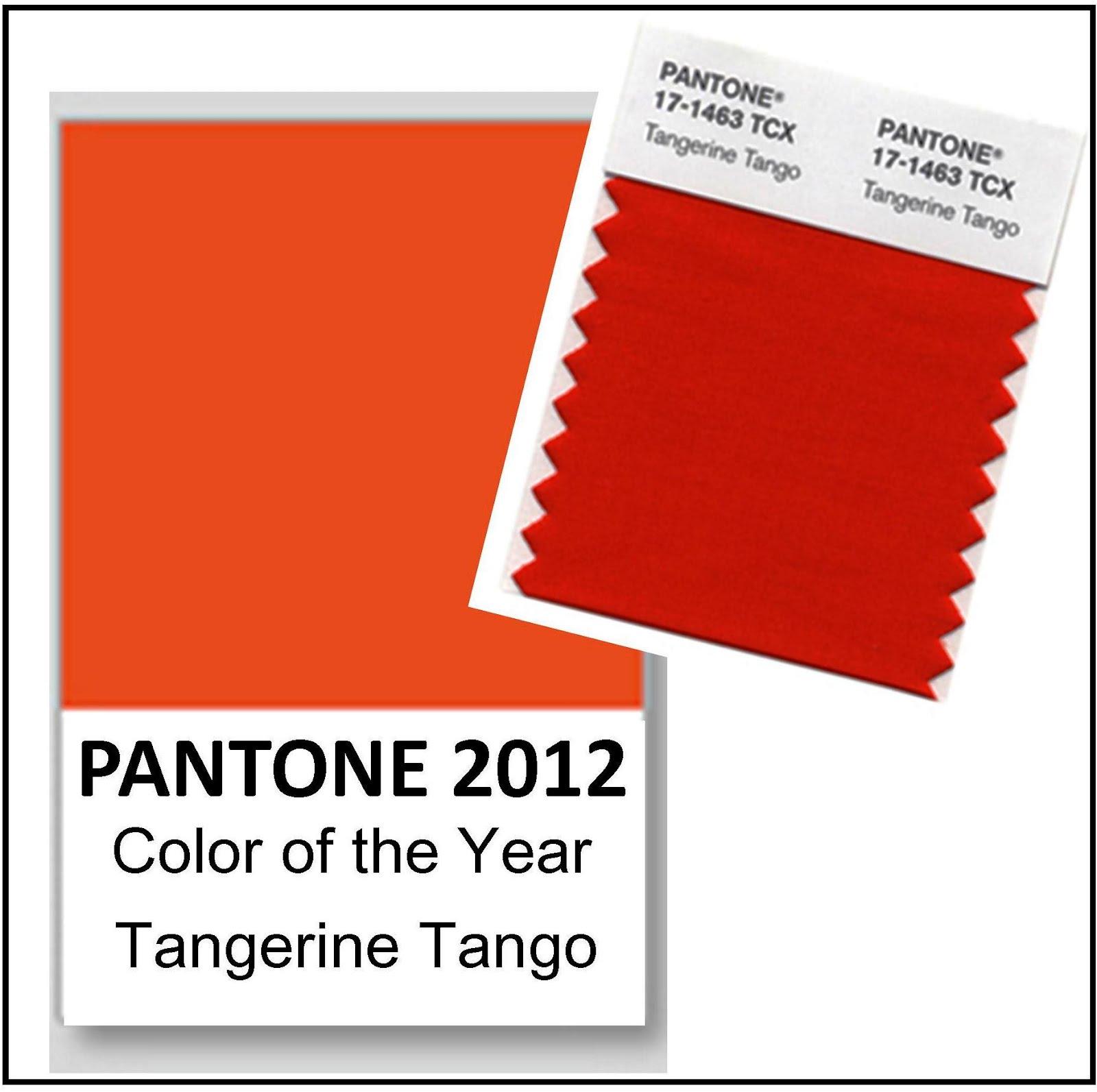 The Gatewood Hall Gracious Home Journal: Tangerine Tango Named ...