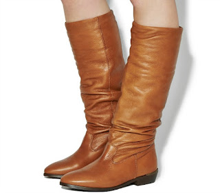 Ladies Boots Wish List | Morgan's Milieu: Tan boots, from Office, for £98.