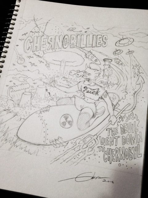 Chernobillies divulga prévia da capa do novo álbum